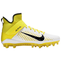 Nike Alpha Menace Pro 2 MID - Men's - White / Yellow