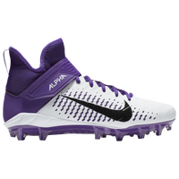 Nike Alpha Menace Pro 2 MID - Men's - White / Purple