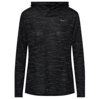 Nike Team Legend Veneer L/S Hoodie - Women's - Black