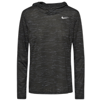 Nike Team Legend Veneer L/S Hoodie - Women's - Grey