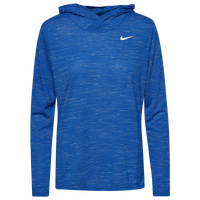 Nike Team Legend Veneer L/S Hoodie - Women's - Blue