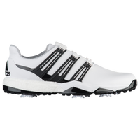 adidas Powerband BOA Boost Golf Shoes - Men's - White / Black