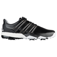 adidas Powerband BOA Boost Golf Shoes - Men's - Black / White