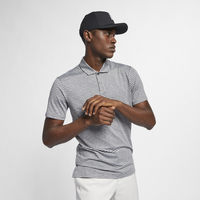 Nike TW Vapor Dry Stripe Golf Polo - Men's - Grey