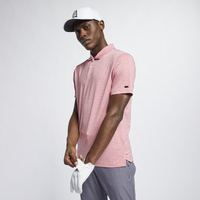 Nike TW Vapor Dry Stripe Golf Polo - Men's - Red