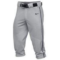 Nike Team Vapor Pro Piped High Pants - Boys' Grade School - Grey