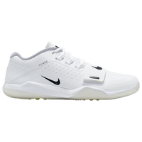 Nike Alpha Menace Turf Low - Men's - White