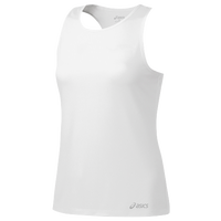 ASICS® Ready-Set Singlet - Women's - All White / White