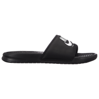 Nike Benassi JDI Text SE - Men's - Black