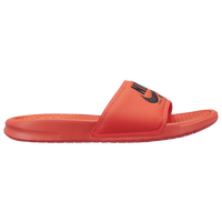 Nike Benassi JDI Text SE - Men's - Red