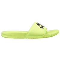 Nike Benassi JDI Text SE - Men's - Light Green