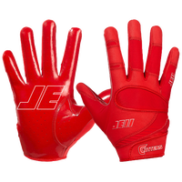 Cutters JE11 Signature Series Receiver Gloves - Men's -  Julian Edelman - Red / Red