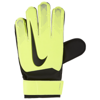 Nike Match Goalkeeper Gloves - Grade School - Light Green / Black