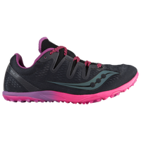 Saucony Carrera XC3 Flat - Women's - Black / Purple