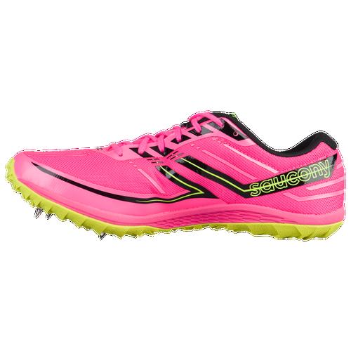 Saucony Kilkenny XC7 Spike - Women's Track & Field - Vizi Pink/Citron S190412
