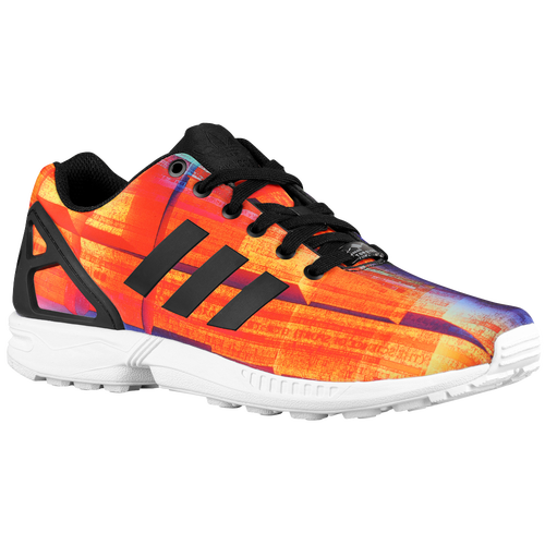 Mens Yellow Casual Black Australia Adidas Zx Flux Breathable Running Shoes