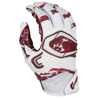 Cutters Rev Pro 2.0 Camo Receiver Gloves - Men's - Maroon / White