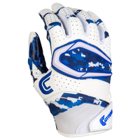 Cutters Rev Pro 2.0 Camo Receiver Gloves - Men's - White / Blue