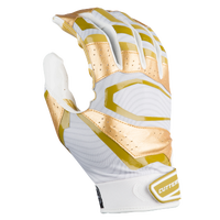 Cutters Rev Pro 3.0 Metallic Receiver Gloves - Men's - White / Gold