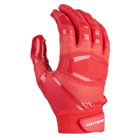 Cutters Rev Pro 3.0 Solid Receiver Gloves - Men's - Red / Red