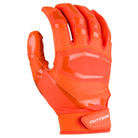Cutters Rev Pro 3.0 Solid Receiver Gloves - Men's - Orange / Orange