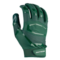 Cutters Rev Pro 3.0 Solid Receiver Gloves - Men's - Dark Green / Dark Green