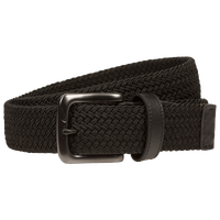 Nike Stretch Woven Golf Belt - Men's - All Black / Black