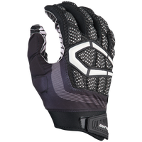 Cutters Gamer 3.0 Padded Football Gloves - Men's - Black / White