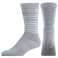 Jordan Retro 11 Crew Socks - Grey / White