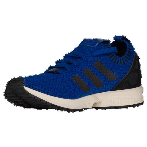 pretty nice a048b 36edc adidas Originals ZX Flux Primeknit - Men s - Running - Shoes - Collegiate  Royal Black