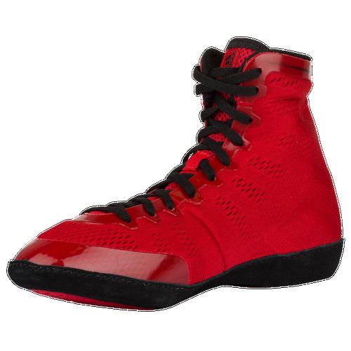 Adidas adizero varner uomini wrestling scarpe rosso / nero