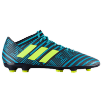 adidas Nemeziz 17.3 FG - Men's - Navy / Light Green