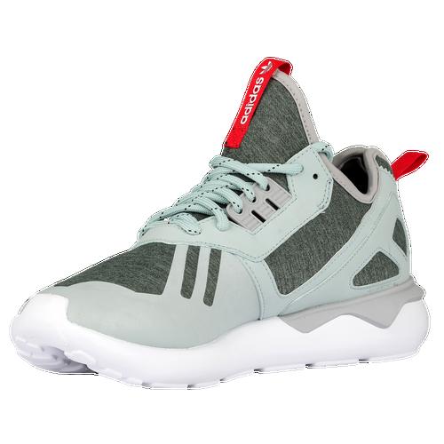 Adidas Originals Men's White Tomato Tubular Runner Sneakers mist Slate All Size