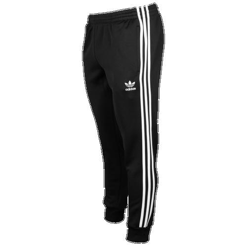 adidas Originals Superstar Cuffed Track Pants - Men\u0027s - Black / White