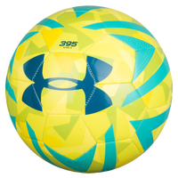 Under Armour Desafio 395 Soccer Ball - Adult - Yellow / Aqua