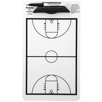 Korney Boards Aides Basketball Coaching Board - White / Black
