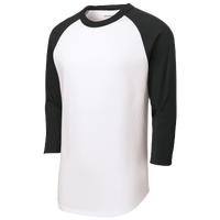 SPORT-TEK Colorblock Raglan T-Shirt - Men's - White / Black