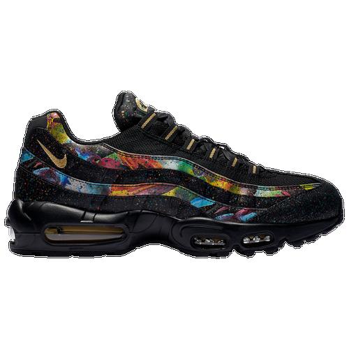size 40 c7639 67ec4 ... ebay nike air max 95 mens casual shoes black metallic gold cobalt blaze  661c3 4497e