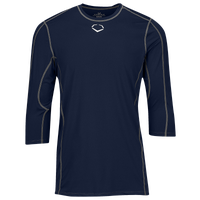 Evoshield Pro Team Mid Sleeve Shirt - Men's - Navy