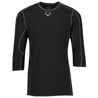 Evoshield Pro Team Mid Sleeve Shirt - Boys' Grade School - Black