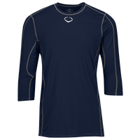 Evoshield Pro Team Mid Sleeve Shirt - Boys' Grade School - Navy