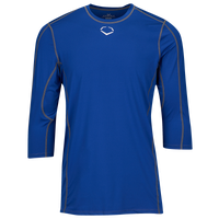 Evoshield Pro Team Mid Sleeve Shirt - Boys' Grade School - Blue