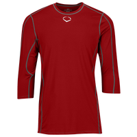 Evoshield Pro Team Mid Sleeve Shirt - Boys' Grade School - Red