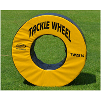 Fisher Athletic Pursue and Tackle Wheel - Yellow / Black