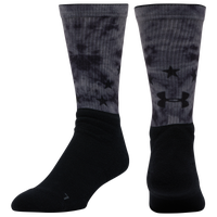 Under Armour Unrivaled Novelty Crew - Men's - Black / Grey