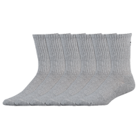 Under Armour Charge Cotton 2.0 6 Pack Crew Socks - Men's - Grey / Grey