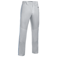 Under Armour Team Piped Icon Baseball Pants - Men's - Grey
