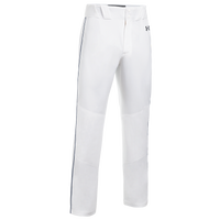 Under Armour Team Piped Icon Baseball Pants - Men's - White
