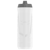 Under Armour Sideline Squeezable Water Bottle - White