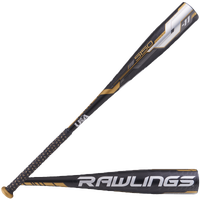 Rawlings 5150 USA Baseball Bat - Grade School - Black / Gold